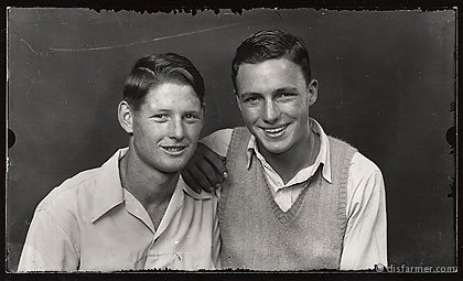 Two Smiling Young Men