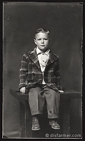 Young Boy in Wool Jacket