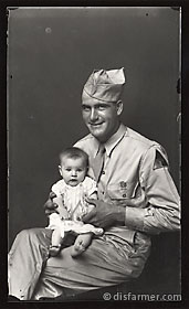 Military Father and Baby Girl