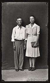 Man and Woman with Pocketbook
