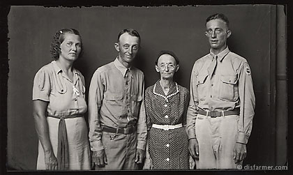 Mother with Two Military Sons and Daughter-in-law